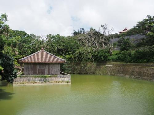 Jardines del castillo Shuri de Okinawa (Japón)