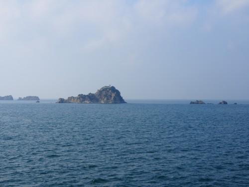 Vista del mar desde la isla de Shodoshima