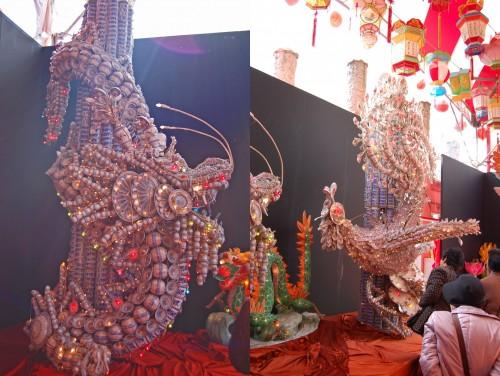 Dragón Fénix en el Festival de las Linternas de Nagasaki