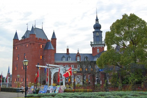 Parque temático de estilo holandés Huis Ten Bosch, en Nagasaki