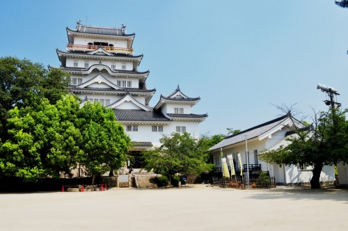 Castillo de Fukuyama en Hiroshima