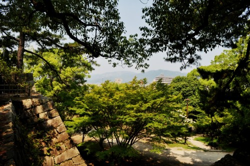 parque castillo fukuyama