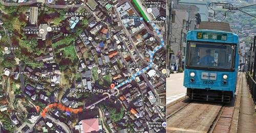 Tranvía de Nagasaki (Japón)