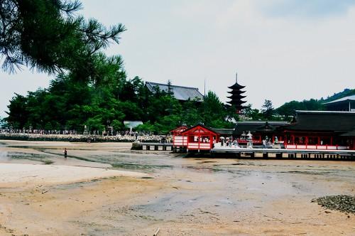 Santuario Itsukushima de Miyajima, en Hiroshima