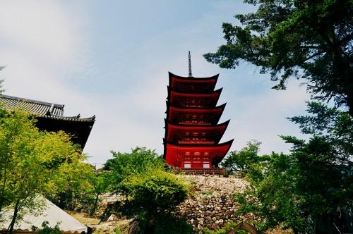 Santuario Toyokuni de Miyajima, en Hiroshima
