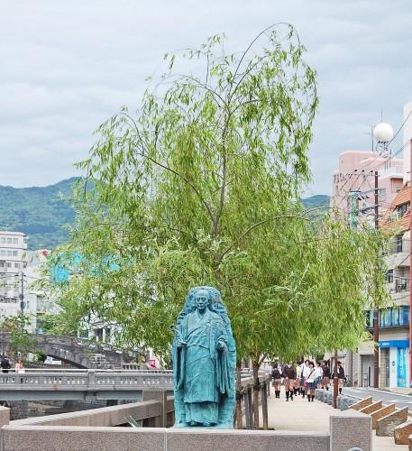 estatua monje nagasaji