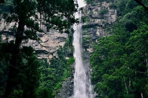 Cascada Nachi, en Wakayama.