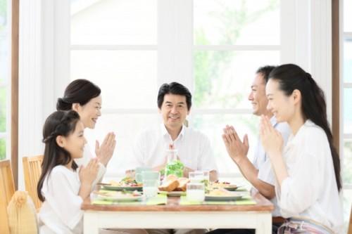 Itadakimasu: dar gracias por la comida en japonés