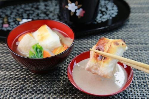 Comida típica de año nuevo en Japón.