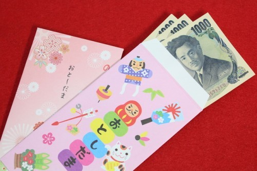 Otoshidama: regalar dinero a los niños en Año Nuevo en Japón