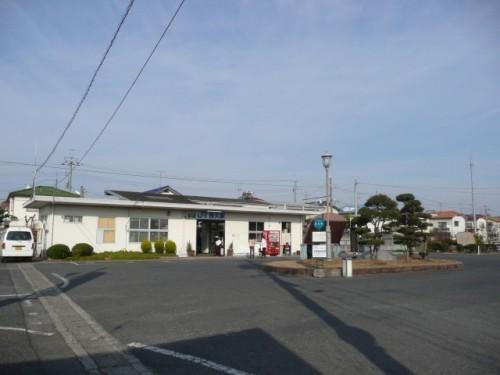 Oku Station, estación en Setouchi (Okayama).