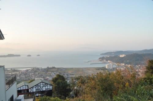 Panorama de Setouchi y el mar Interior de Seto en Okayama.