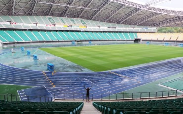Estadio Oita Bank Dome.