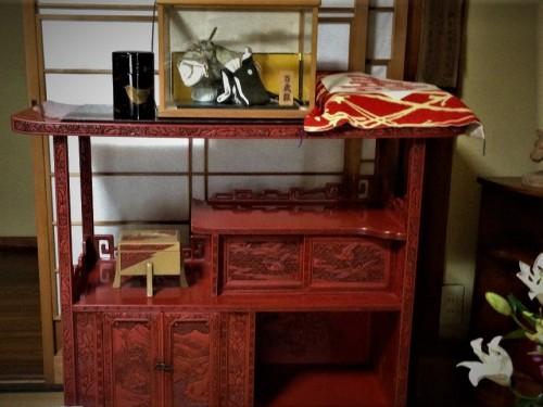 Interior de una ebanistería de Murakami (Japón).