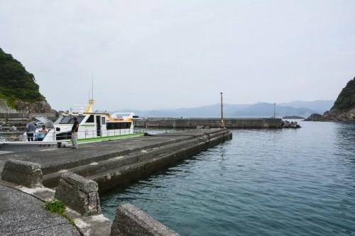 Puerto de Fukashima, la isla de los gatos de Oita.
