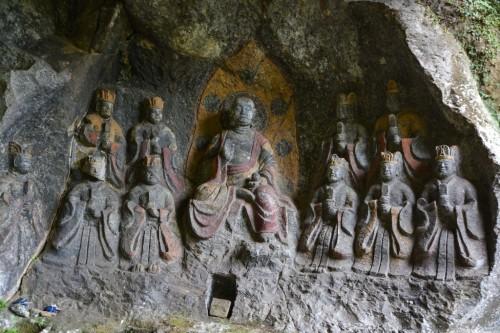 Estatuas de Usuki.