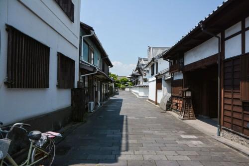 Calle samurái de Usuki, Oita.