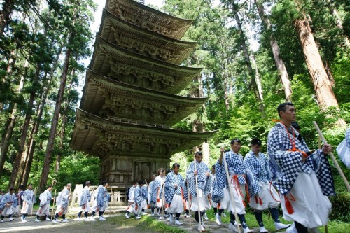 Templo Haguro, en Yamagata.