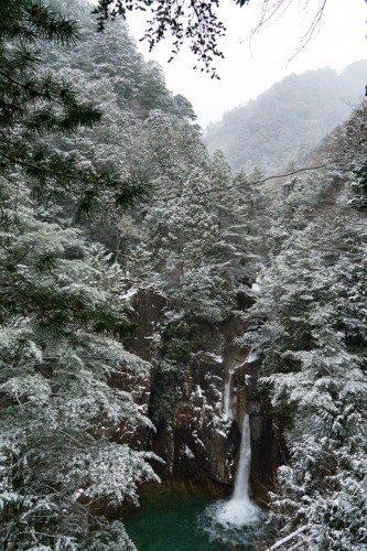 Cascada en el Cañón de Kakizore, Nagiso.