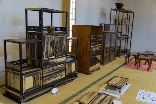 Tienda de artesanía en madera RokuroZaikunoYamaichi.
