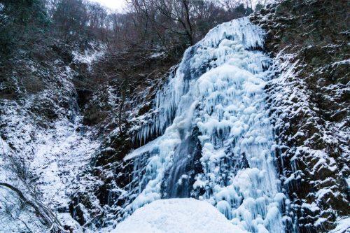 Cascada de hielo Shiraino, en Toon, Ehime.