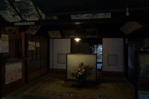 Interior de una casa tradicional japonesa en Tsumago.