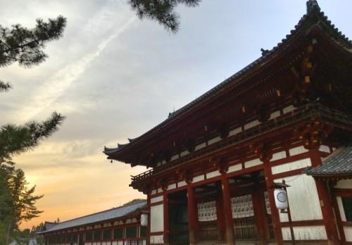 Templo japonés donde hay comida para quien es vegetariano