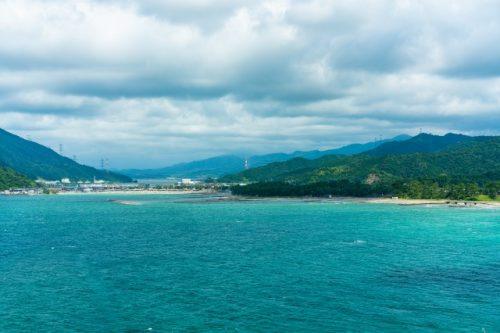 Una hermosa playa cerca de Kyoto
