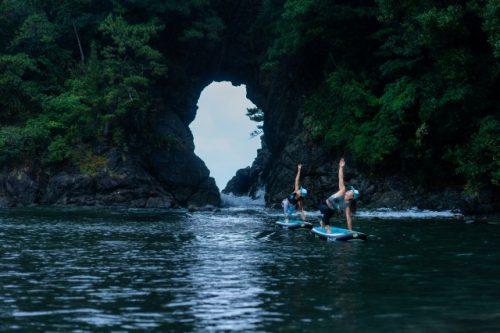 No puedo pensar en un mejor lugar para hacer yoga que en la cueva Meikyodo.