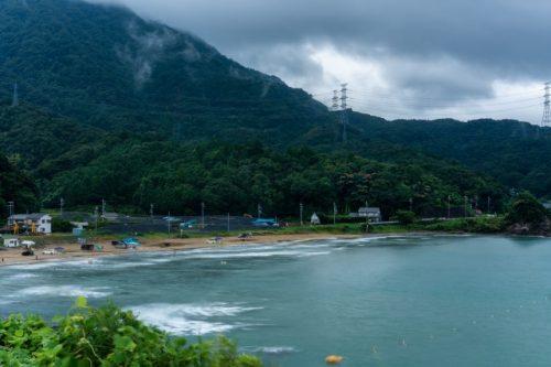 ¡El clima tormentoso no puede evitar que los visitantes disfruten de estas maravillosas playas!