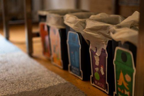 Kame House: ¡Recuerda separar tu basura!
