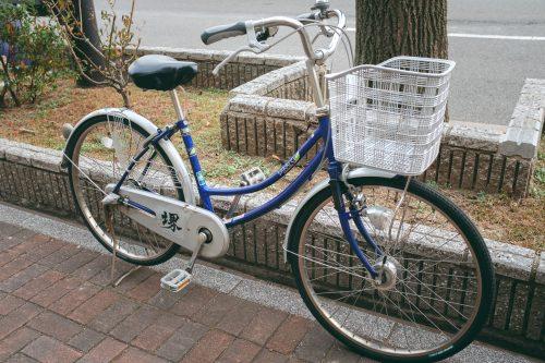 Bicicleta para alquiler, Sakai, Osaka, Japón.