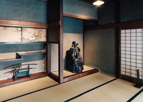 Casa samurái Aoyagi a Kakunodate.