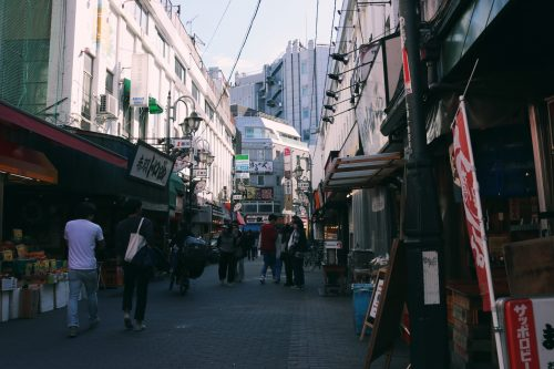 Ichibangai en Abakane, Tokio, Japón