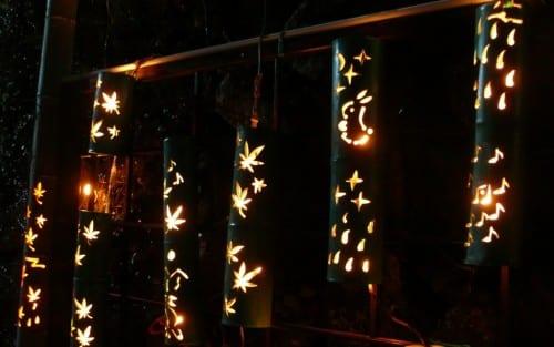 Festival de las Linternas en Ogi, Saga, Japón