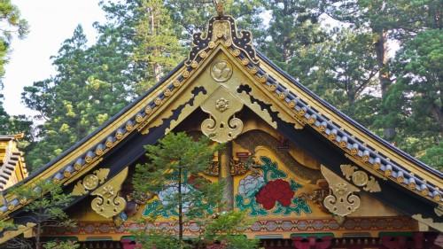 Détails du sanctuaire Toshogu de Nikko, classé au patrimoine de l'Unesco