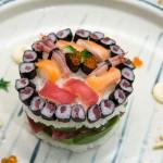 Le sushi millefeuille, vous connaissez ?