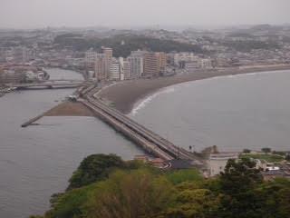 Vue sur l'île d'Enoshima tour près de Tokyo