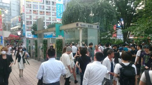 Étiquette japonaise : espaces fumeurs dans la rue au Japon