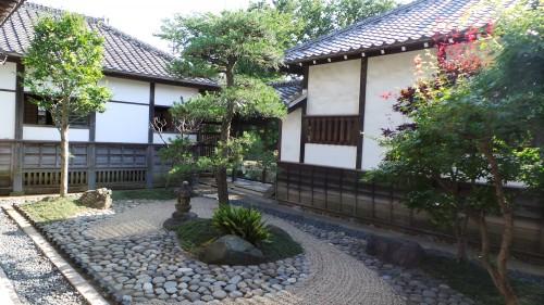 Jardin d'Honmaru Goten dernier vestige du château de Kawagoe
