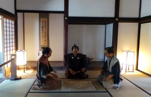 À l'intérieur d'Honmaru Goten dernier vestige du château de Kawagoe