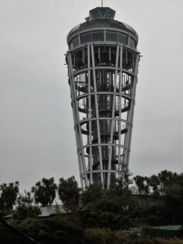 La tour de l'île d'Enoshima.
