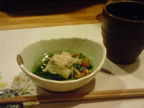 Suivez le jouren : petit plat dans une izakaya japonaise.