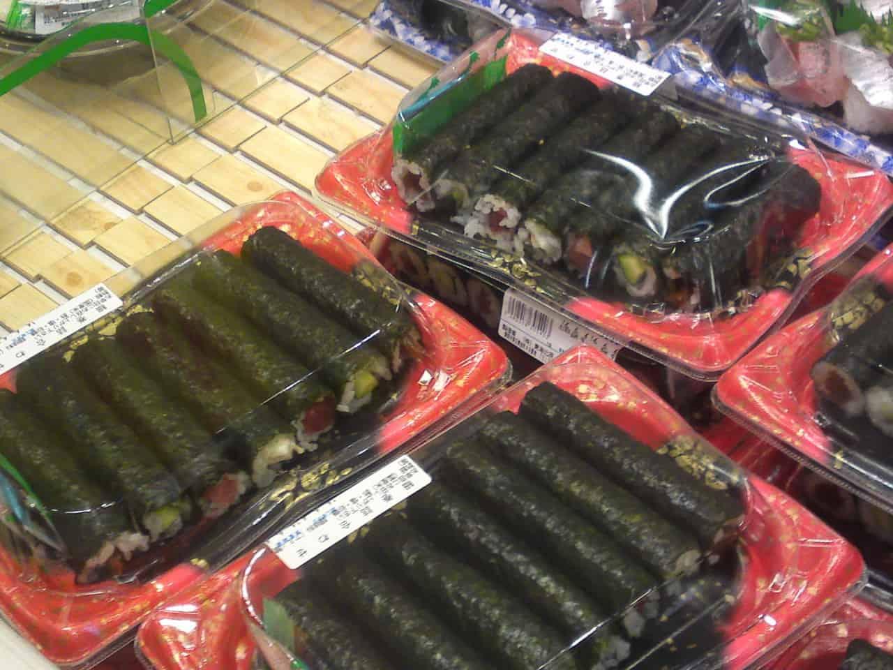 Hoso maki tsumiawase : assortiment de minces maki (sushis en rouleaux) !