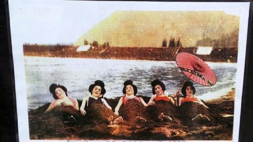 Les bains de sable, une activité historique de Beppu sur l'île de Kyushu