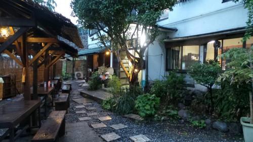 Ryokan dans le quartier de Kannawa à Beppu sur l'île de Kyushu