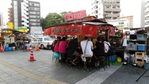 Stand Yatai à tester à Fukuoka