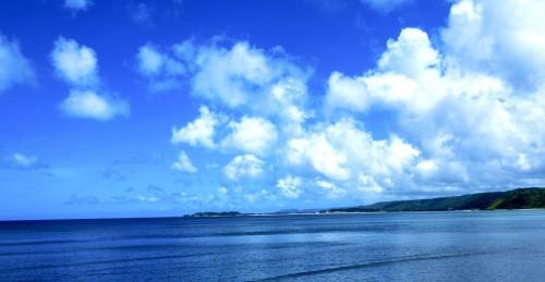 Plage de Nago, sur l'île principale d'Okinawa
