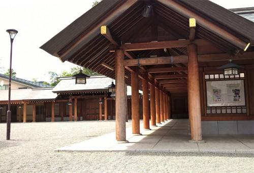Sanctuaire Hokkaido Jingu dans le parc Maruyama de Sapporo, Hokkaido, Japon.