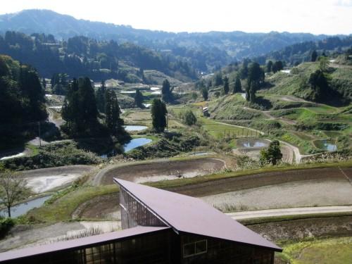 Joli village rural de Yamakoshi, Japon.